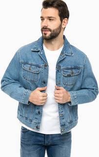 Синяя джинсовая куртка Lee