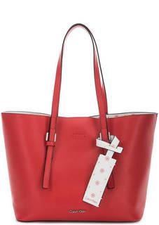 Красная сумка со съемным отделением Calvin Klein Jeans