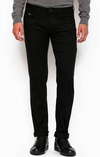 Зауженные черные джинсы Gas