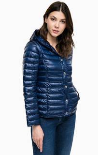 Синяя куртка со съемными рукавами Pennyblack