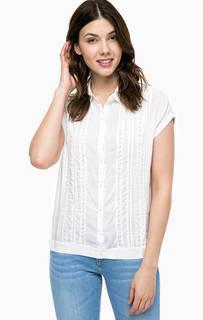Белая рубашка с короткими рукавами Wrangler