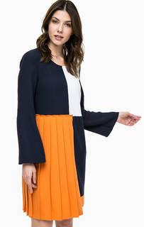 Разноцветное платье с длинными рукавами Pennyblack