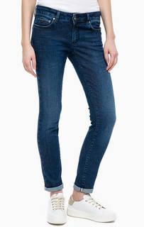 Зауженные джинсы с заломами Gas