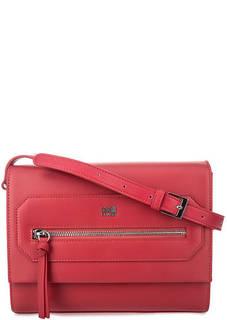 Красная сумка с карманами Cavalli Class