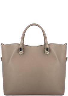 Кожаная сумка с короткими ручками и плечевым ремнем Cavalli Class