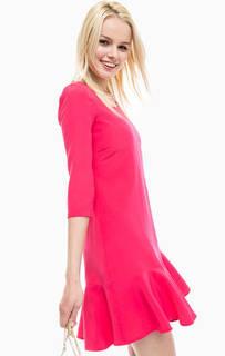 Короткое платье с глубоким вырезом на спине Patrizia Pepe