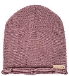 Розовая шерстяная шапка Noryalli