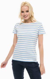Хлопковая футболка в полоску Gant