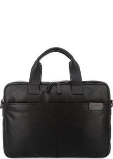 Кожаная сумка с двумя отделами Strellson
