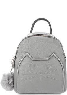Маленький кожаный рюкзак со съемными лямками Curanni