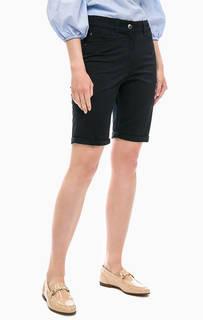 Хлопковые шорты черного цвета Gerry Weber