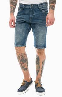 Синие джинсовые шорты Tom Tailor