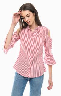 Полосатая рубашка из хлопка More & More