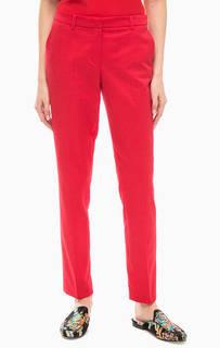 Зауженные брюки красного цвета More & More