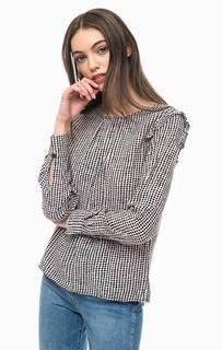Блуза в горошек с длинными рукавами More & More