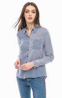 Полосатая рубашка с карманом More & More