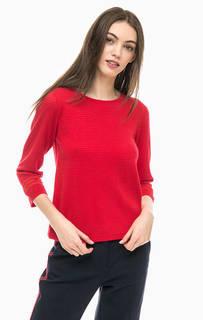 Красный джемпер с длинными рукавами More & More