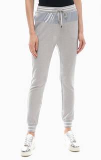 Серые брюки джоггеры с люрексом Liu Jo Sport