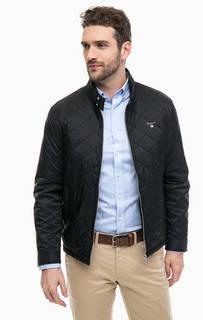 Черная куртка с карманами Gant
