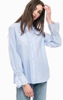 Полосатая рубашка из хлопка Gerry Weber
