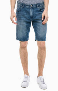 Джинсовые шорты с заломами Tom Tailor Denim