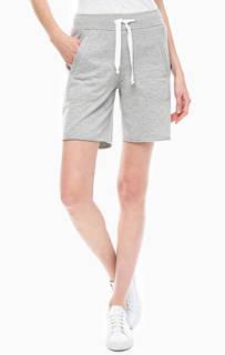 Серые трикотажные шорты с карманами Juvia