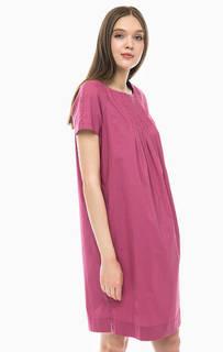 Хлопковое платье свободного кроя Stefanel