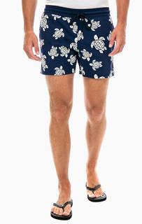 Купальные шорты с флуоресцентным рисунком Vilebrequin