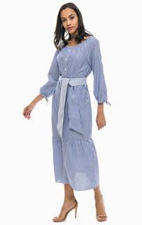 Платье-рубашка с поясом Gant