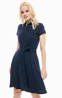 Хлопковое платье с отложным воротничком Gant