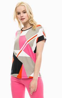 Разноцветная футболка с короткими рукавами Lerros