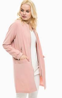 Розовое пальто на молнии Lerros