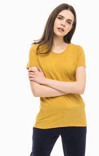 Желтая футболка с короткими рукавами Scotch&Soda