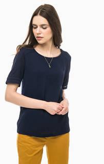 Синяя футболка с кулоном Scotch&Soda