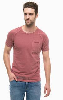 Хлопковая футболка с карманом Mavi