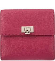 Кожаный кошелек с двумя отделами для купюр Coccinelle