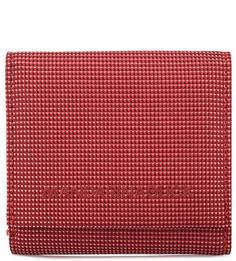 Красный текстильный кошелек Mandarina Duck
