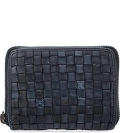 Кожаный кошелек на молнии Gianni Conti