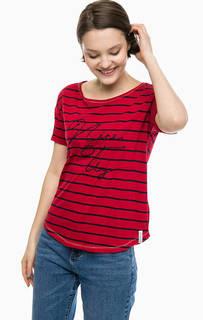Трикотажная футболка в полоску S.Oliver