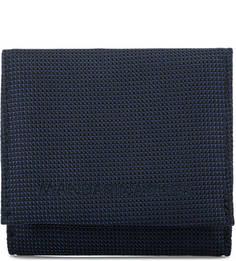 Синий текстильный кошелек Mandarina Duck