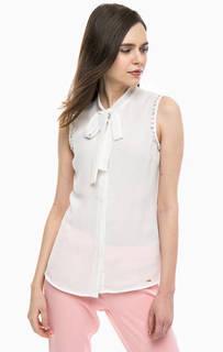 Блуза на пуговицах с декоративной отделкой Gaudi