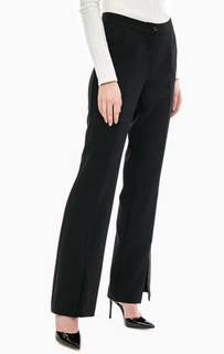 Черные расклешенные брюки Gaudi