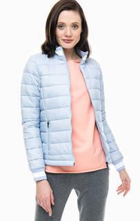 Синяя куртка с карманами Juvia