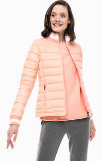 Куртка кораллового цвета с карманами Juvia