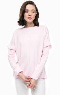 Тонкий свитшот розового цвета Juvia