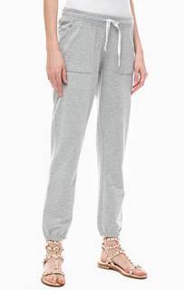 Серые трикотажные брюки джоггеры Juvia