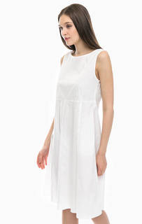 Платье средней длины с расклешенной юбкой Stefanel