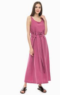 Длинное платье с расклешенной юбкой Stefanel