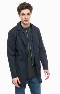 Куртка на пуговицах с съемной ветрозащитной планкой Jack & Jones