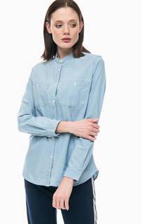 Джинсовая рубашка с длинными рукавами Lacoste